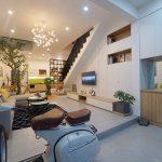 Thiết kế nhà đẹp Đà Nẵng – Nhà phố 5x20m