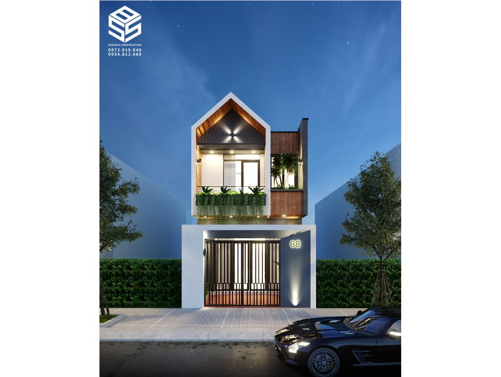 Nhà phố đẹp Đà Nẵng - Chú Trung 1