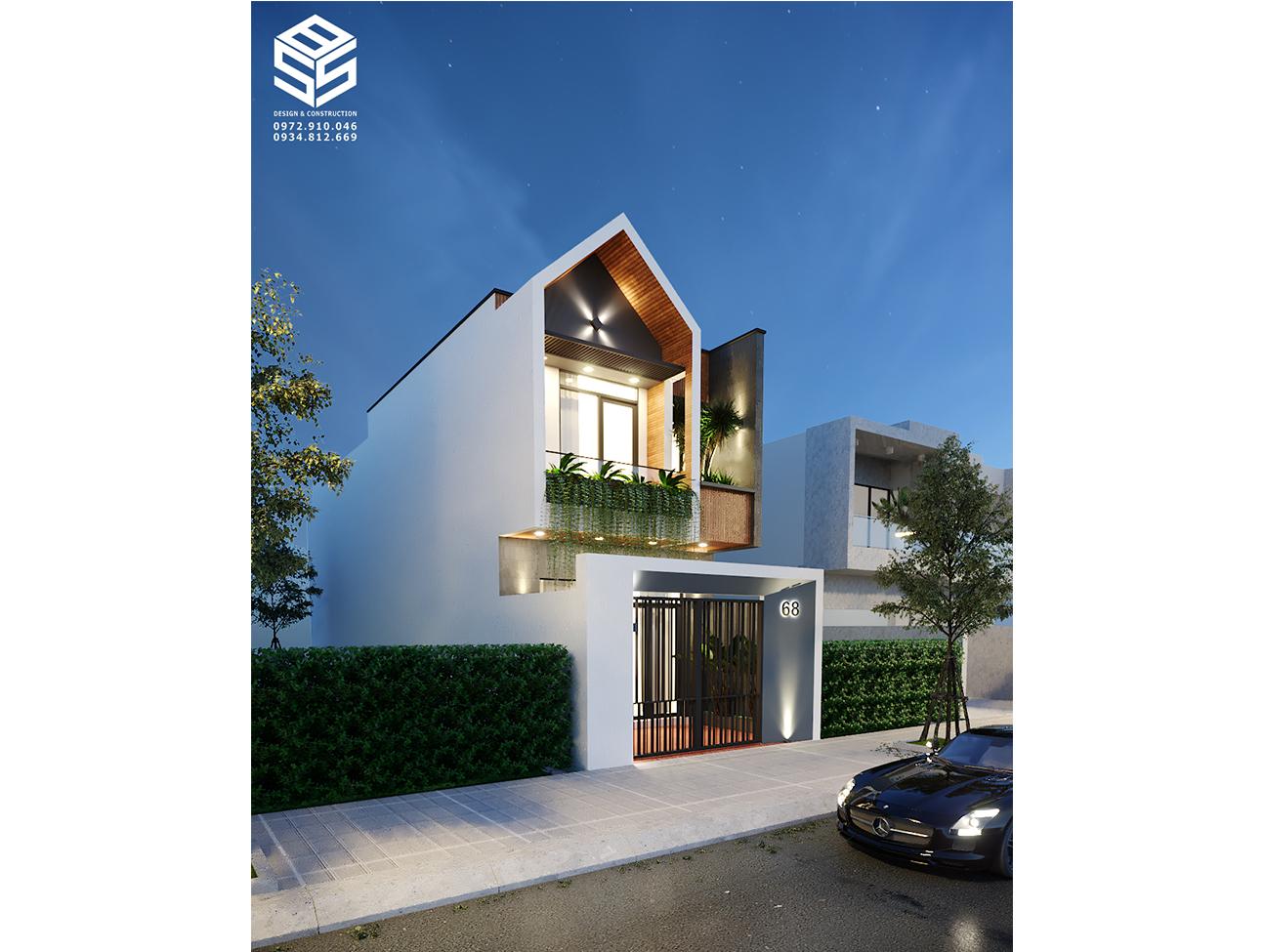 Thiết kế thi công nhà phố trọn gói - Chu Trung 3