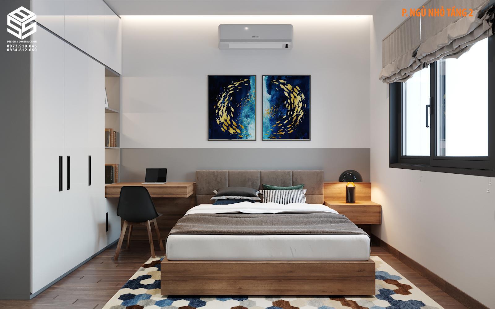 mẫu nhà 2 tầng đẹp 2020