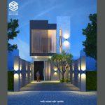 Nhà phố có sân vườn đẹp – Thiết kế nhà đẹp Đà Nẵng