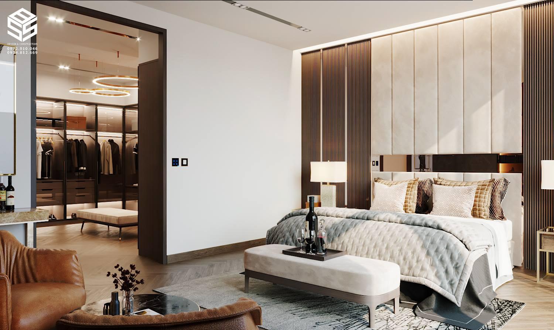Phòng ngủ hiện đại sang trọng