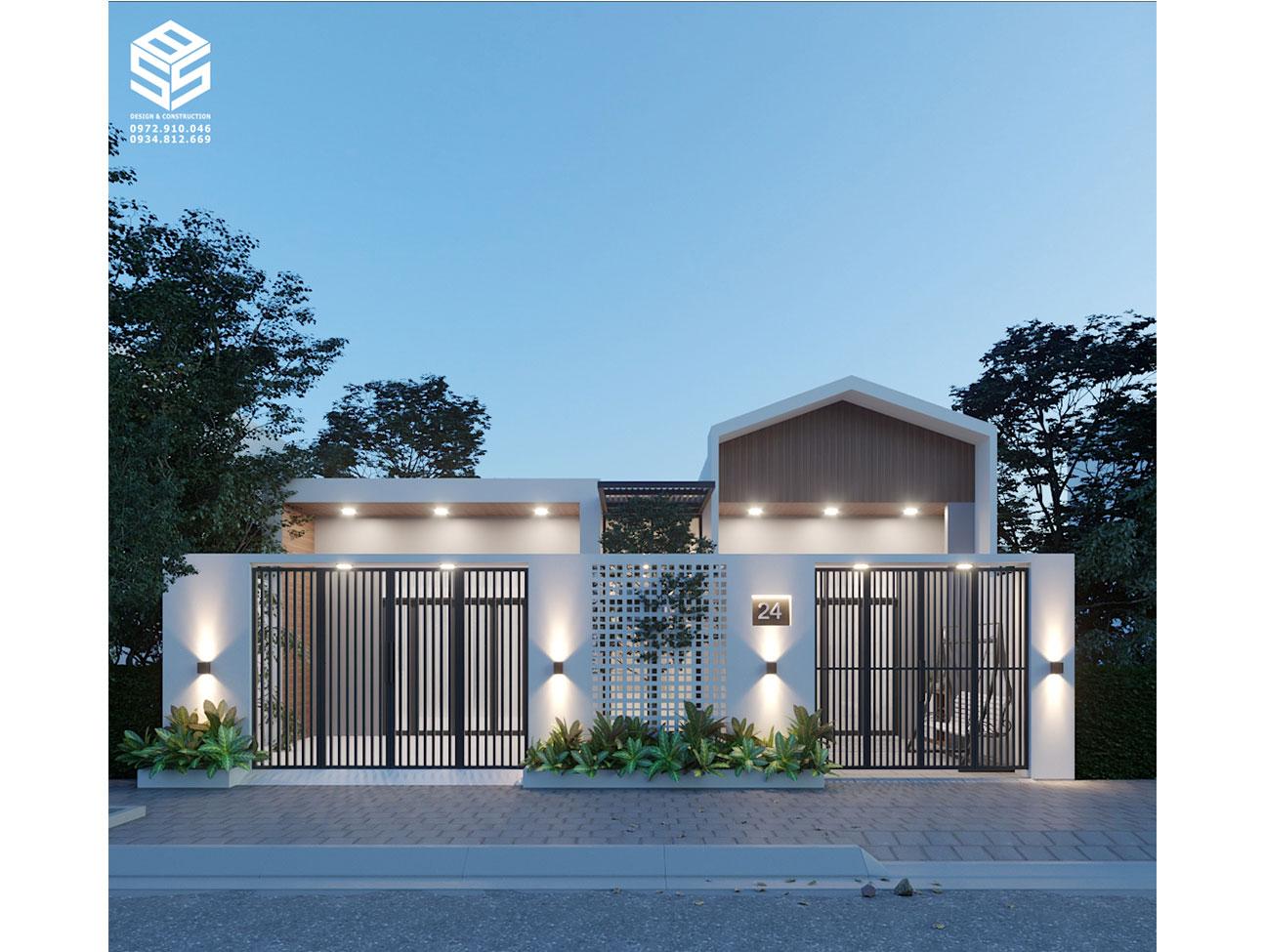 Nhà cấp 4 xinh xắn mà SBS HOUSE thiết kế
