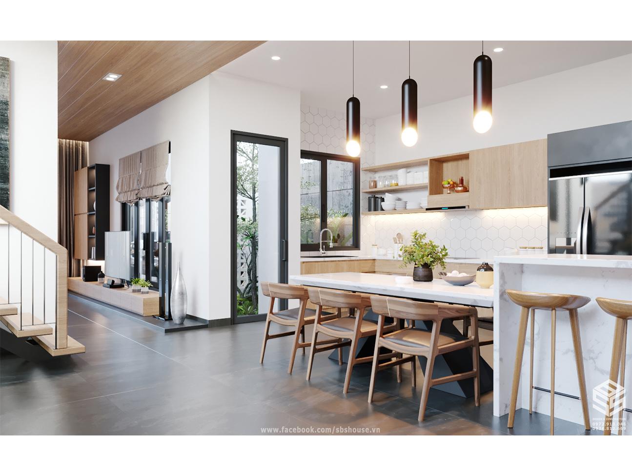 Thiết kế nội thất nhà phố Đà Nẵng