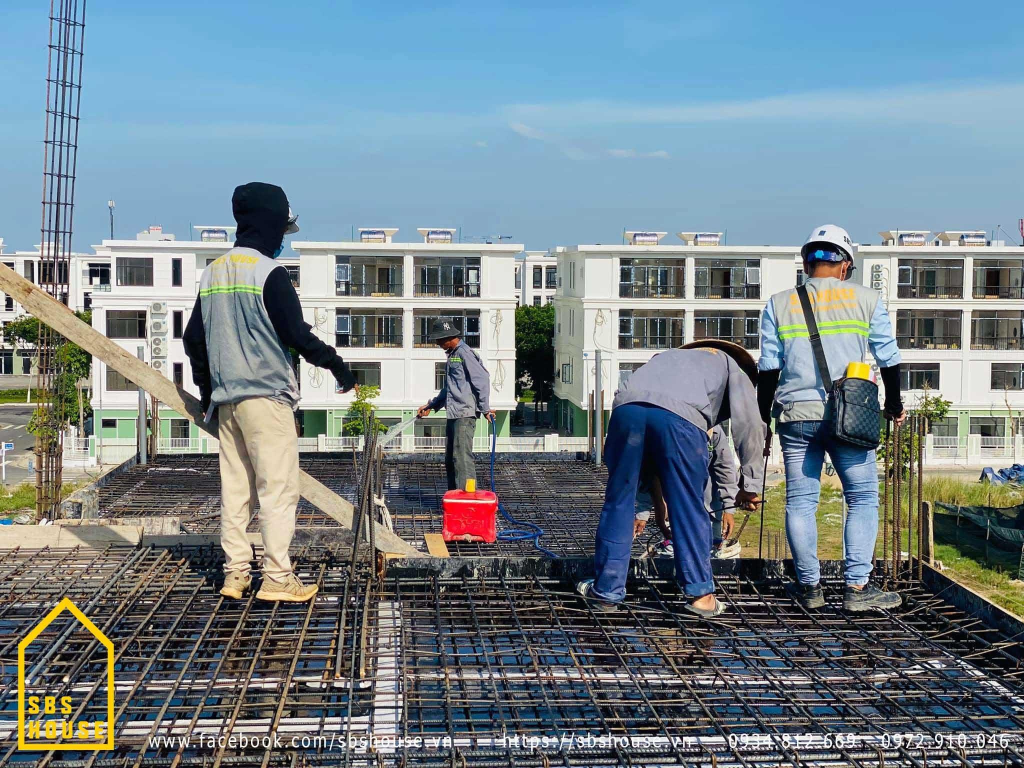 Thi công xây dựng phần thô tại Đà Nẵng