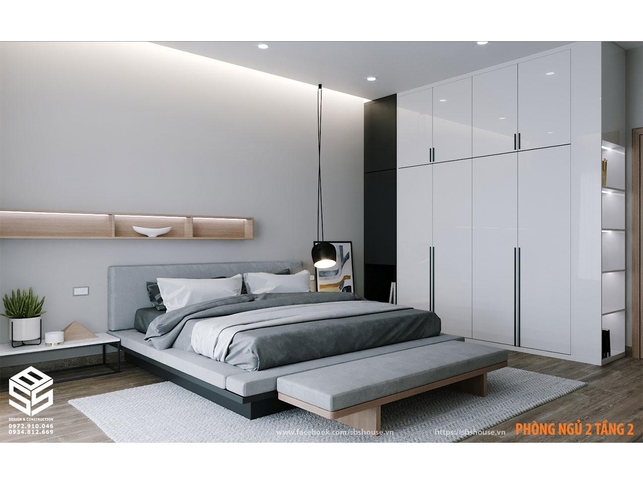 Mẫu thiết kế phòng ngủ hiện đại