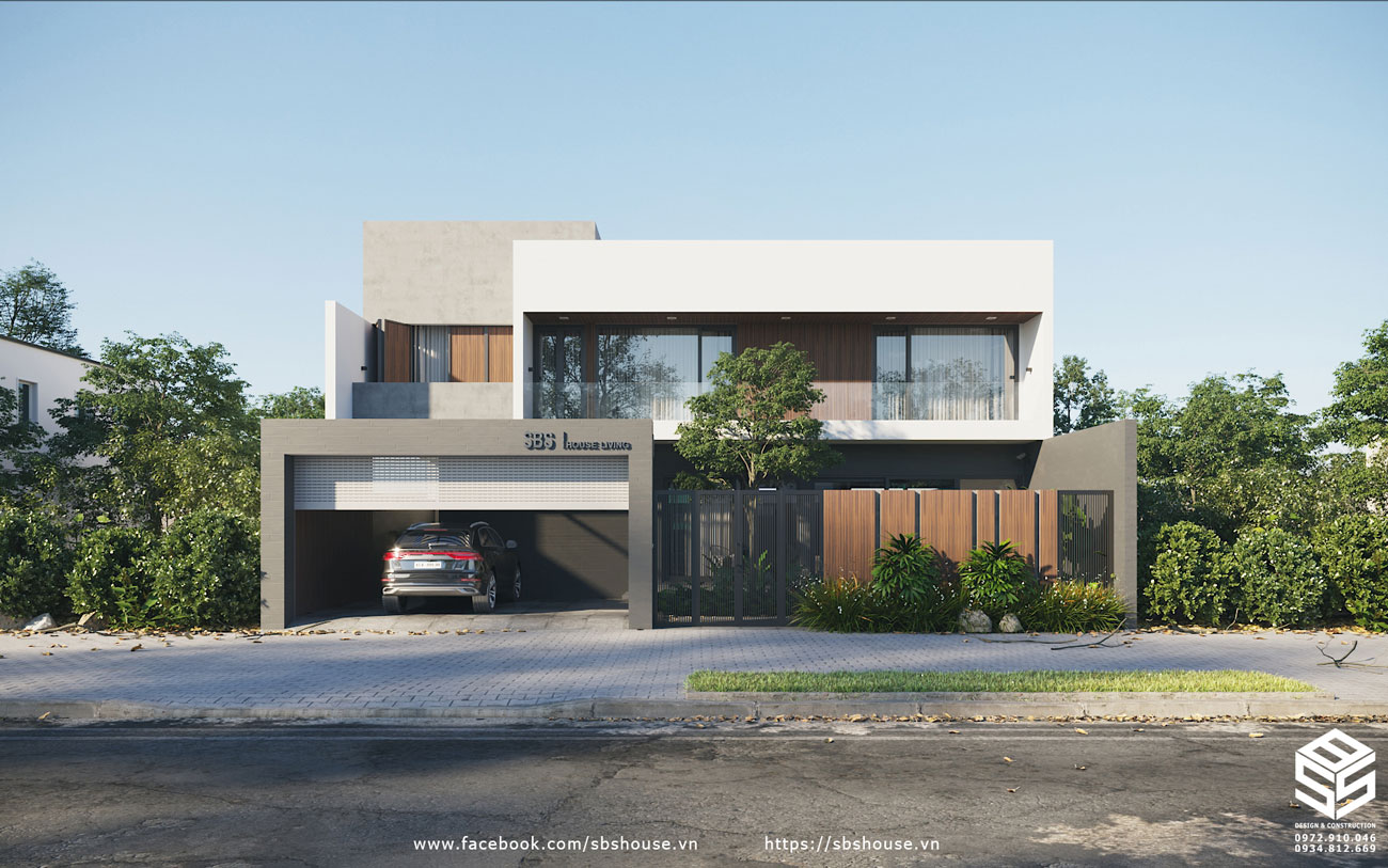 Thiết kế biệt thự hiện đại Đà Nẵng