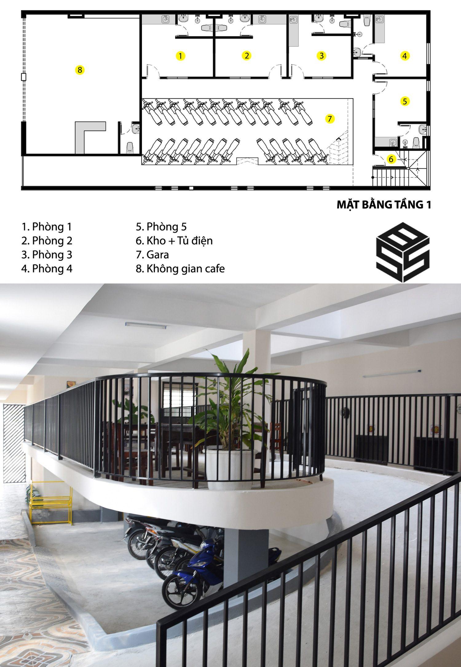 Thiết kế phòng trọ