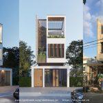 Nhà phố 3 tầng đẹp – P.House