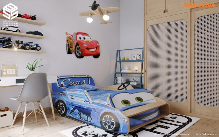 mẫu thiết kế phòng cho trẻ em