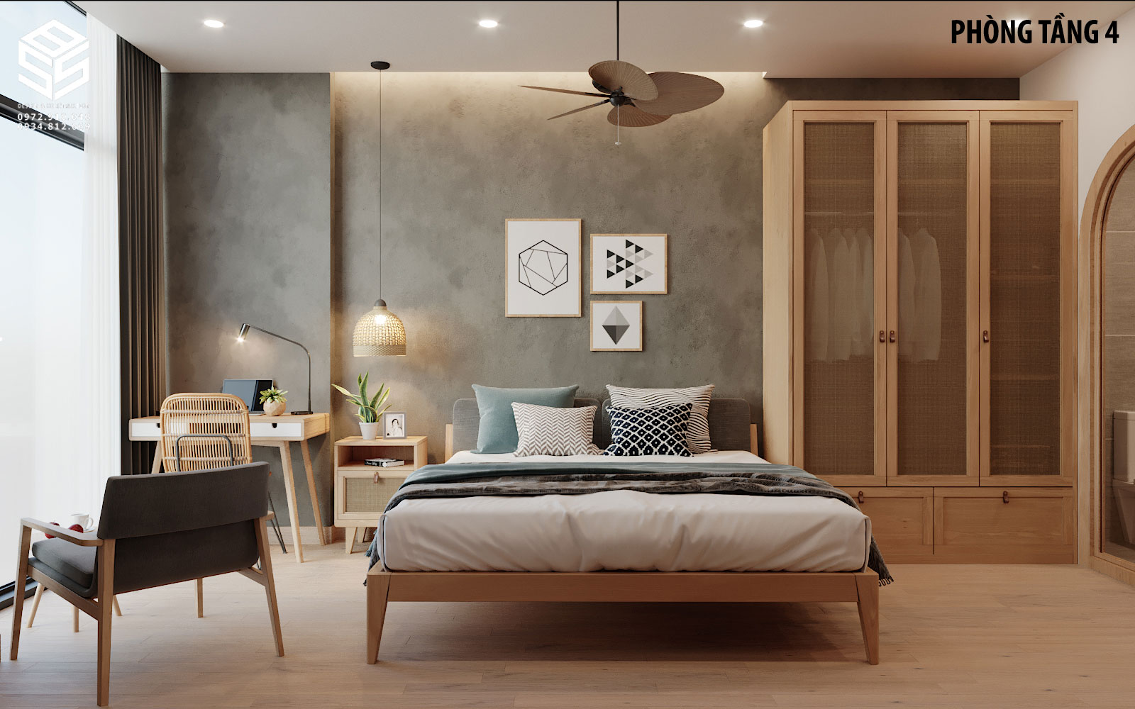 mẫu thiết kế homestay đẹp
