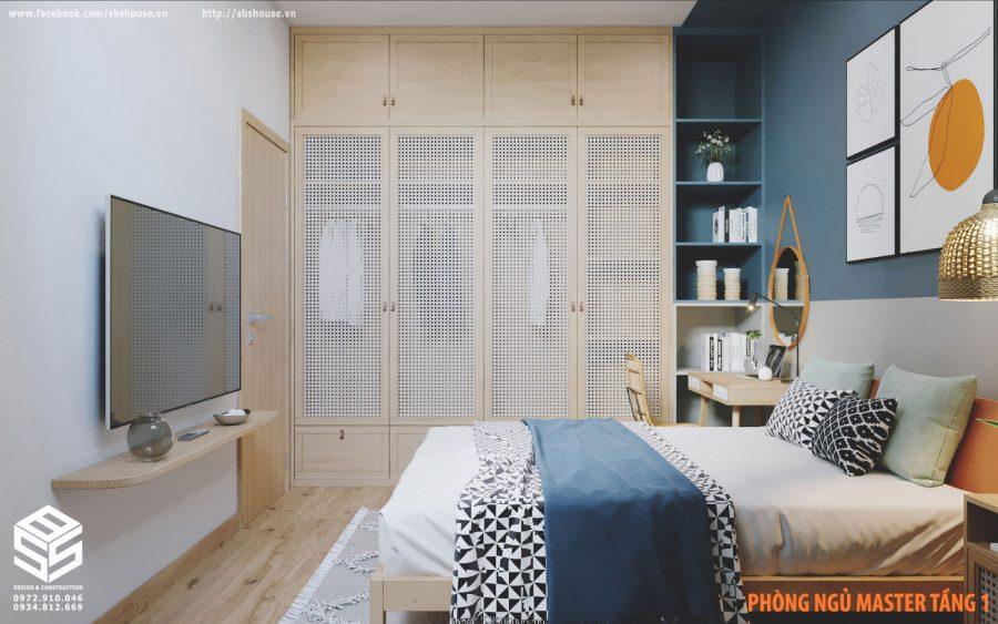 Mẫu thiết kế phòng ngủ Master