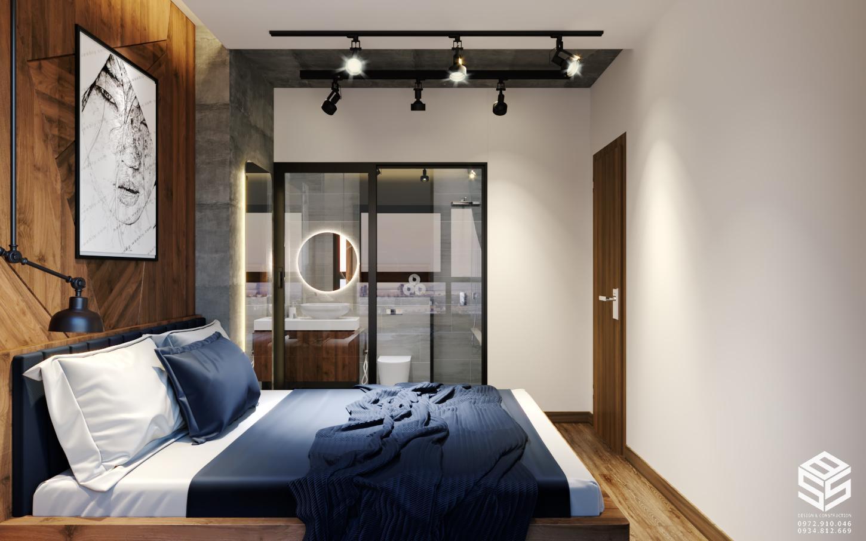Mẫu phòng ngủ đẹp trong chung cư 60m2