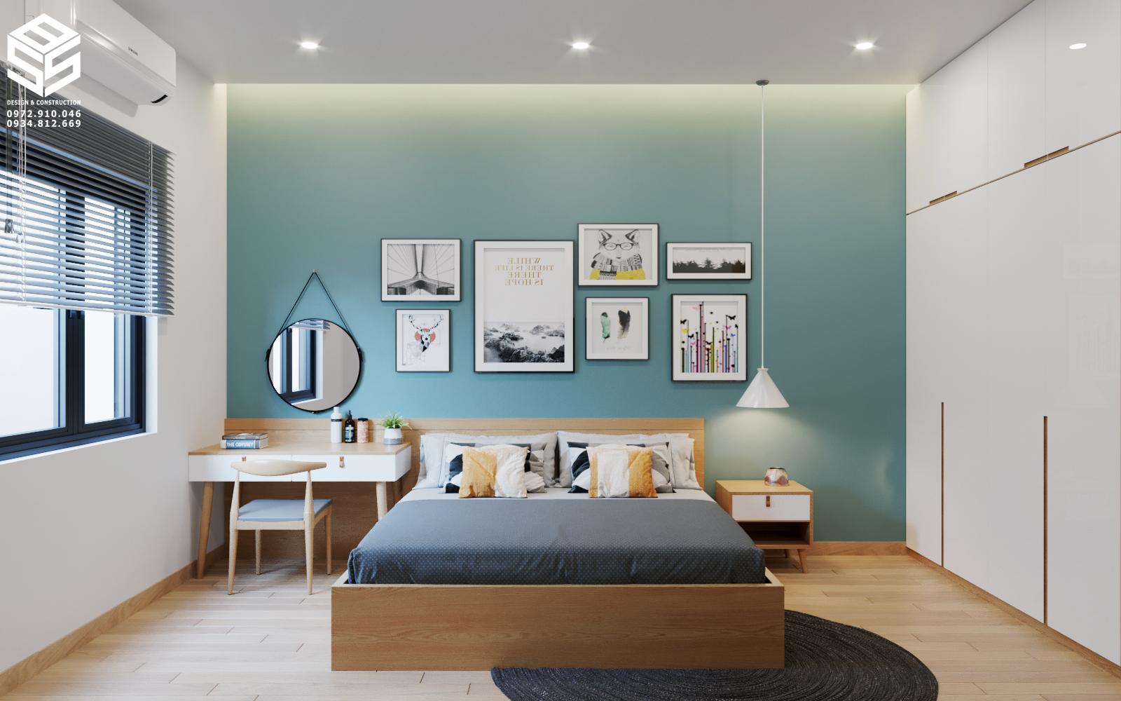 Decor phòng ngủ đẹp hiện đại