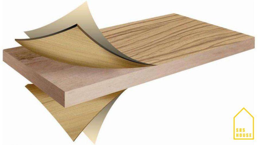 Cấu tạo gỗ MDF phủ Melamine