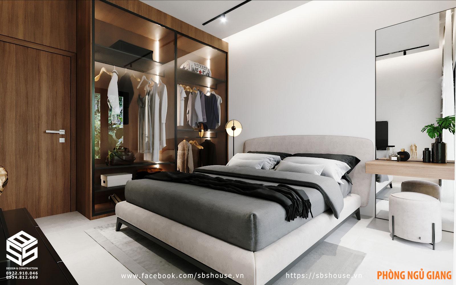 Mẫu phòng ngủ hiện đại sang trọng