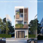 Công trình nhà ở kết hợp cho thuê – S.HOUSE