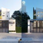 Công trình thiết kế nhà phố 2 tầng – Phúc's House