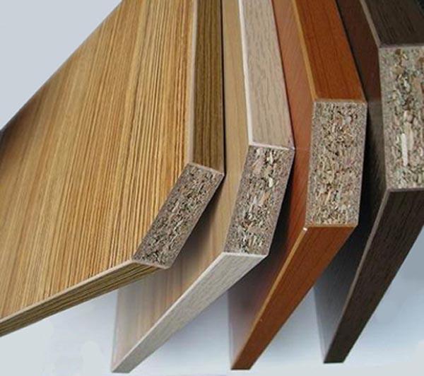 Mẫu gỗ MDF phủ Melamine