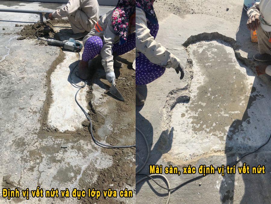Xử lý vết nứt sàn bê tông