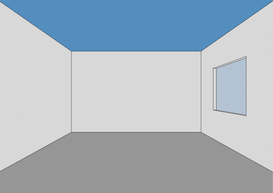 Bố cục màu sắc căn bản trong không gian