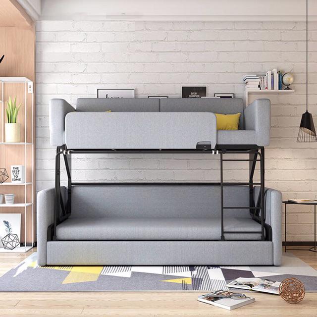 giường tầng thông minh tiết kiệm không gian