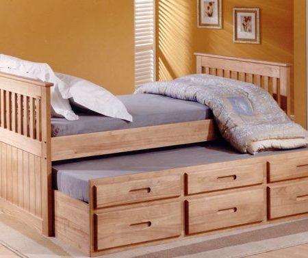 Giường đôi kéo