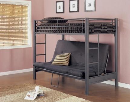Mẫu giường tầng thông minh kết hợp ghế sofa