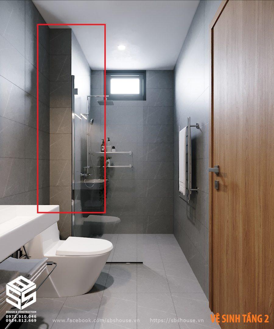 Hộp kỹ thuật nhà vệ sinh