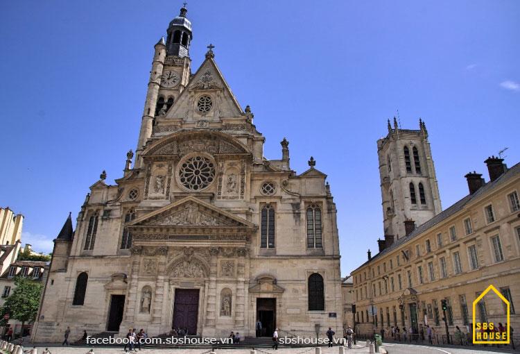 phong cách kiến trúc gothic