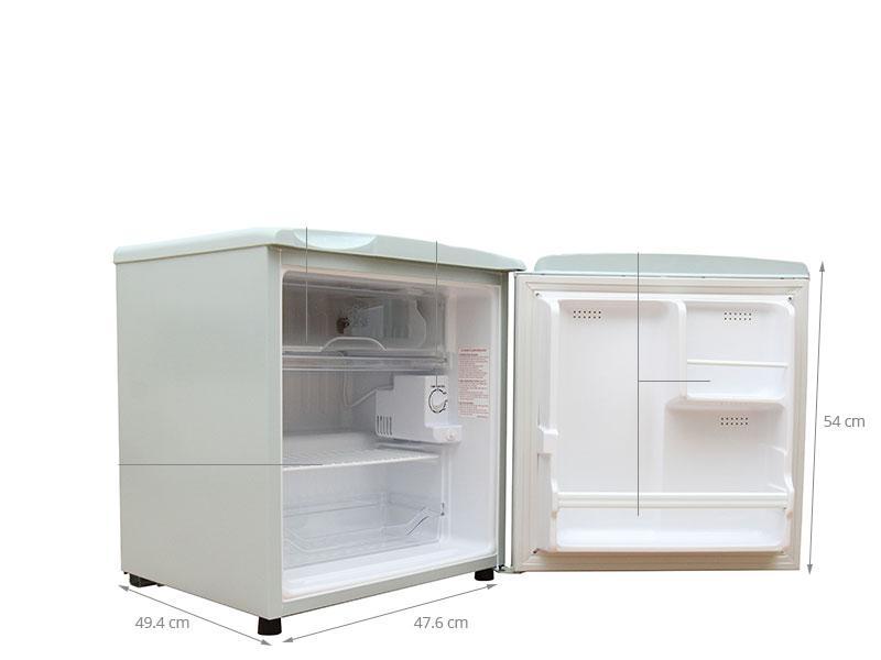 kích thước tủ lạnh 50l