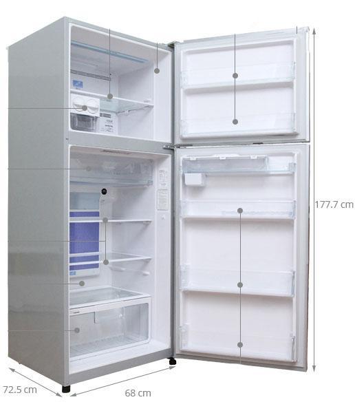 tủ lạnh cỡ lớn