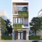 Mẫu thiết kế nhà phố 3 tầng 5x14m đẹp ngất ngây