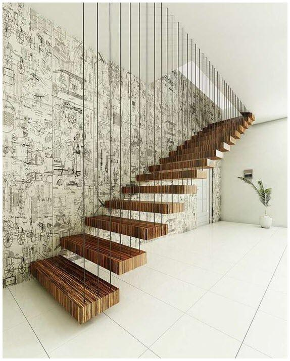 Cầu thang bằng gỗ