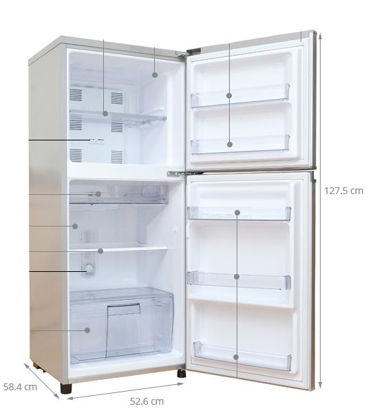 kích thước tủ lạnh panasonic