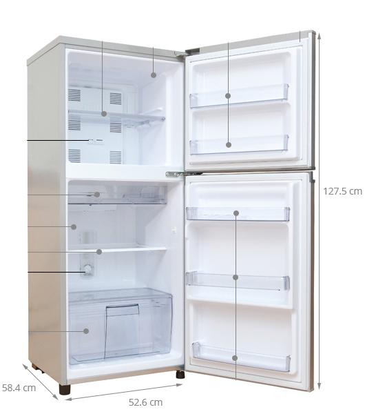 tủ lạnh kích thước