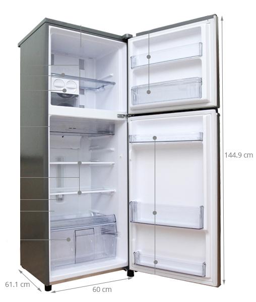 kích thước tủ lạnh nhỏ