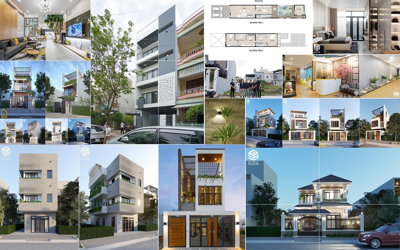 Công ty thiết kế và thi công nhà đẹp đà nẵng