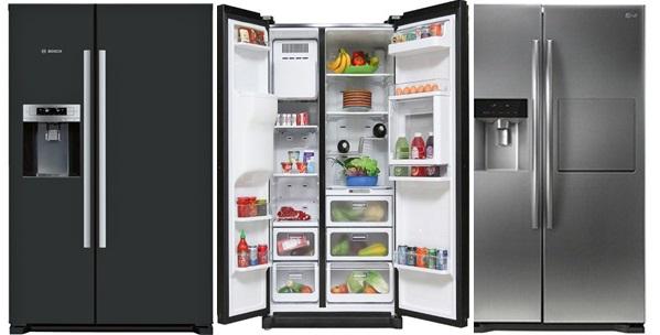 kích thước của tủ lạnh side by side
