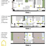 10 mẫu mặt bằng công năng nhà 3 tầng đã được tính toán, thiết kế chuẩn