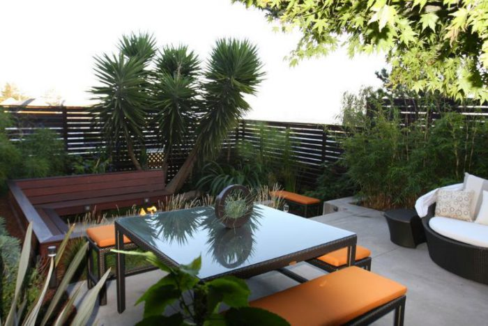 thiết kế sân thượng theo kiến trúc bền vững