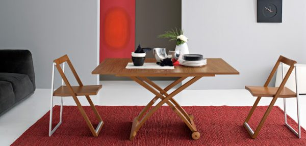 mẫu bàn ăn kiểu nhật hiện đại cho 2 người