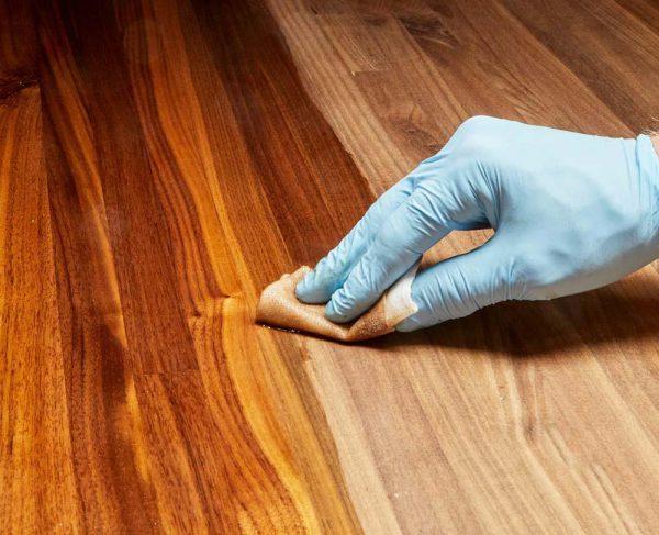 vecni đóng bóng bề mặt gỗ