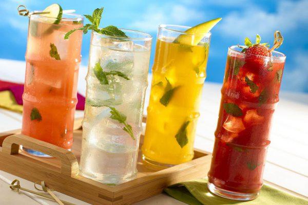 nước uống giúp làm mát cơ thể
