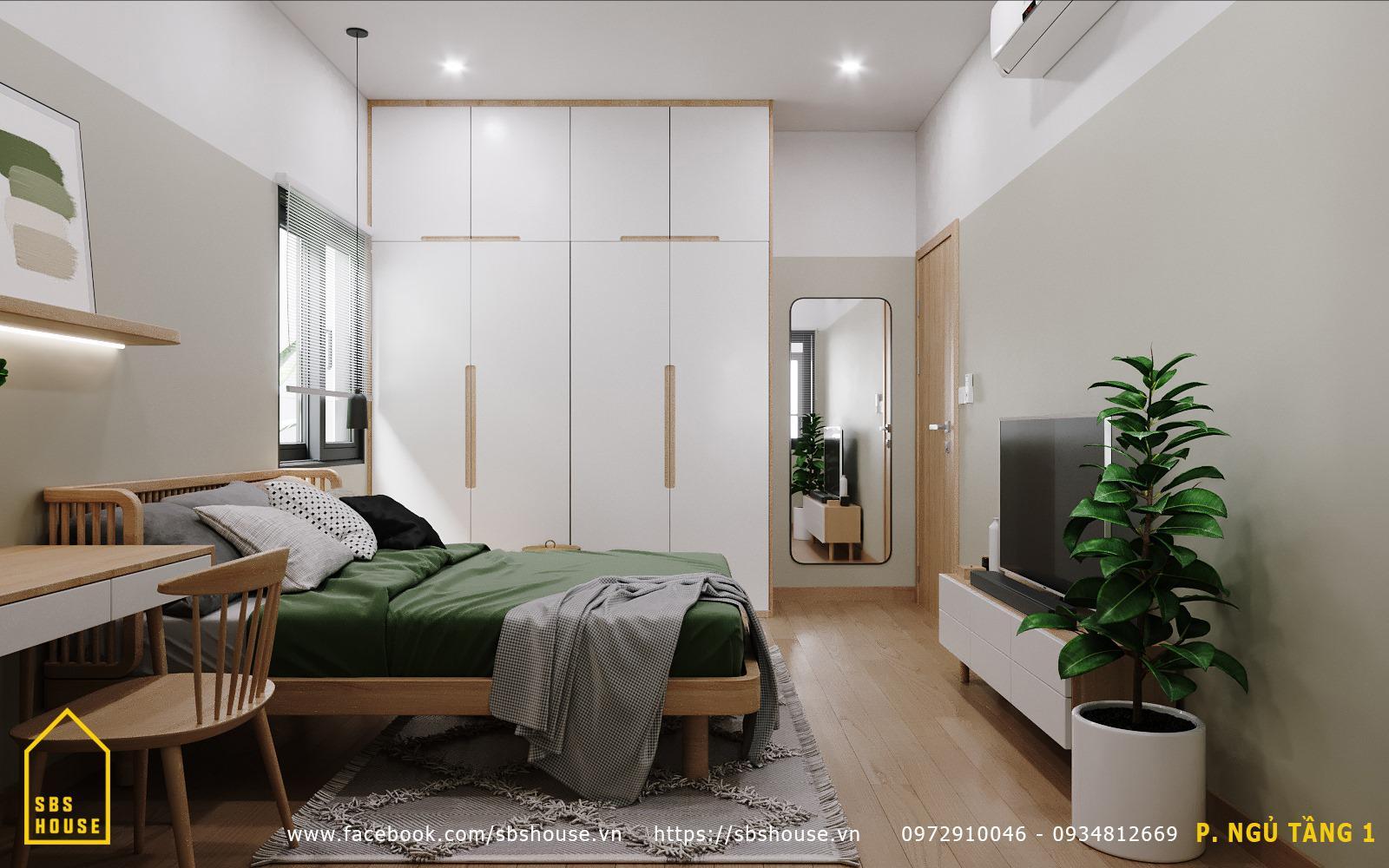 phòng ngủ đẹp nhỏ