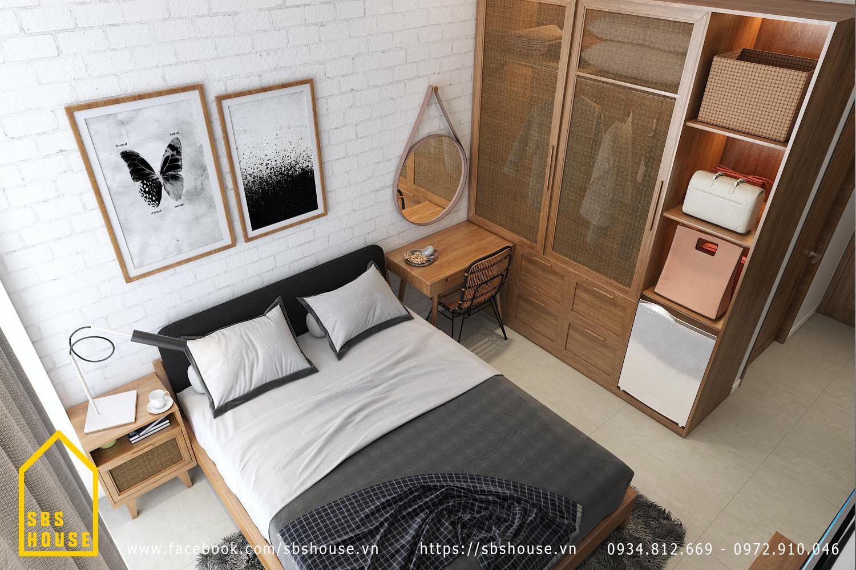 trang trí phòng ngủ nhỏ đơn giản mà đẹp