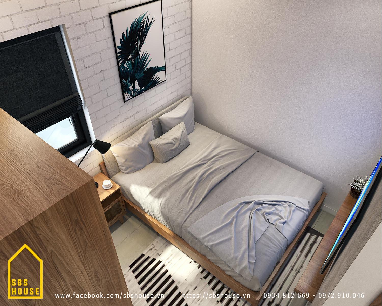 thiết kế căn hộ cho thuê 4 tầng