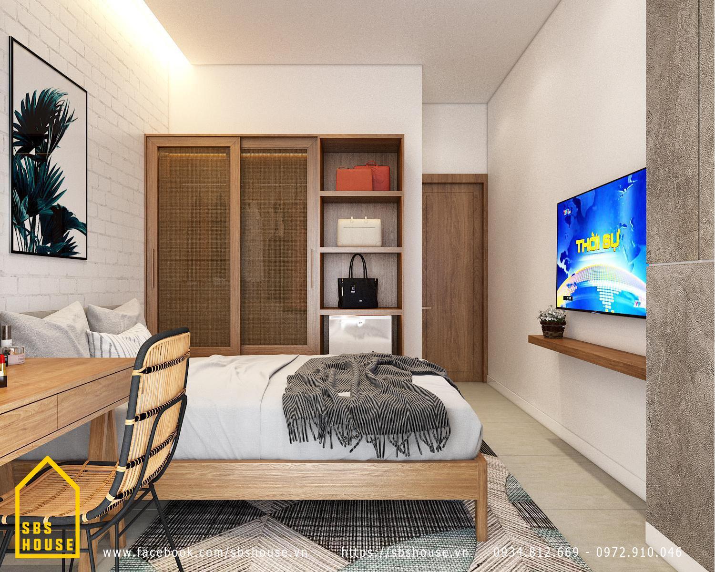 thiết kế căn hộ cho thuê 30m2