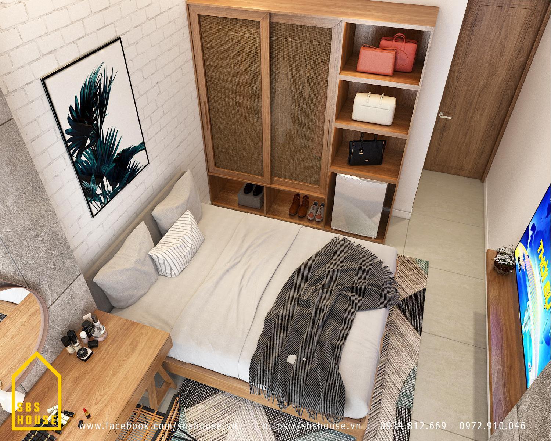 mẫu căn hộ mini cho thuê