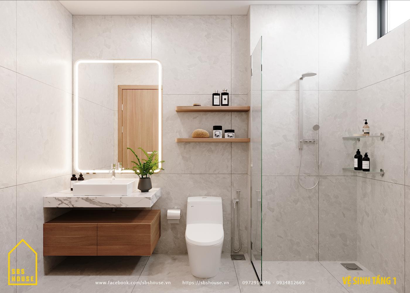 thiết kế nhà 3 tầng đẹp đơn giản